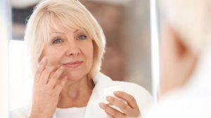 unidad de menopausia - pelo canoso