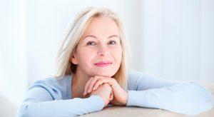 laser ginecológico - mujer mayor
